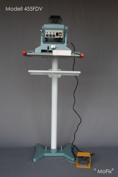 Vertikal-Folienschweißgerät, halbautomatik, Impulstechnik Serie FDV