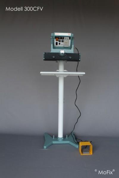 Vertikal-Folienschweißgerät, halbautomatik, dauerbeheizt Serie CFV