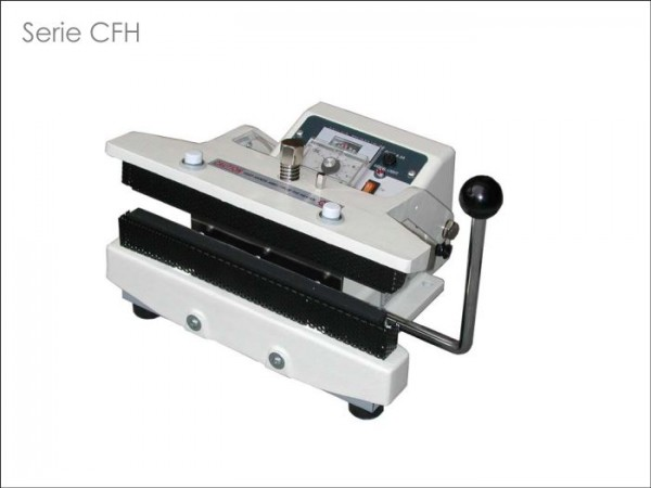 Tisch-Schweißgerät (dauerbeheizt, Knebel-Pressmechanik) Serie CFH