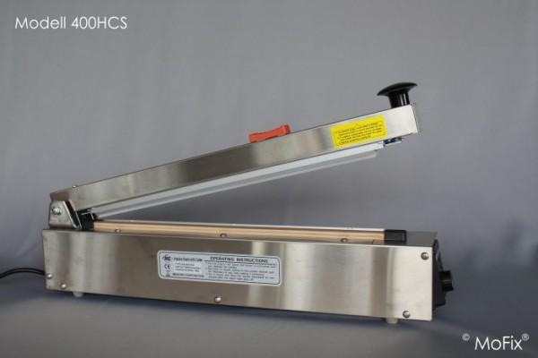Tisch-Schweißgerät (Edelstahl mit Abschneider) Serie HCS